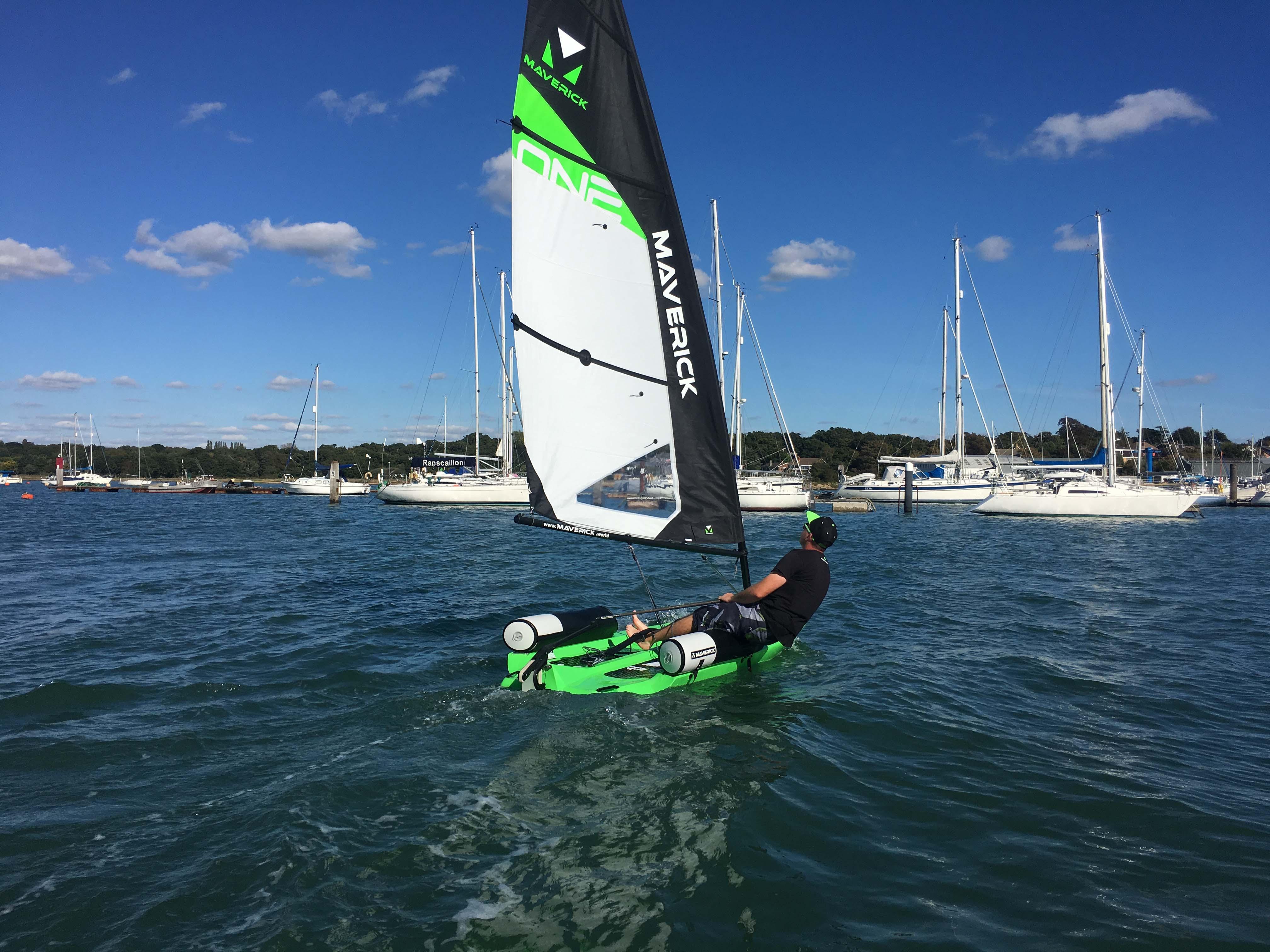 Sailing Maverick