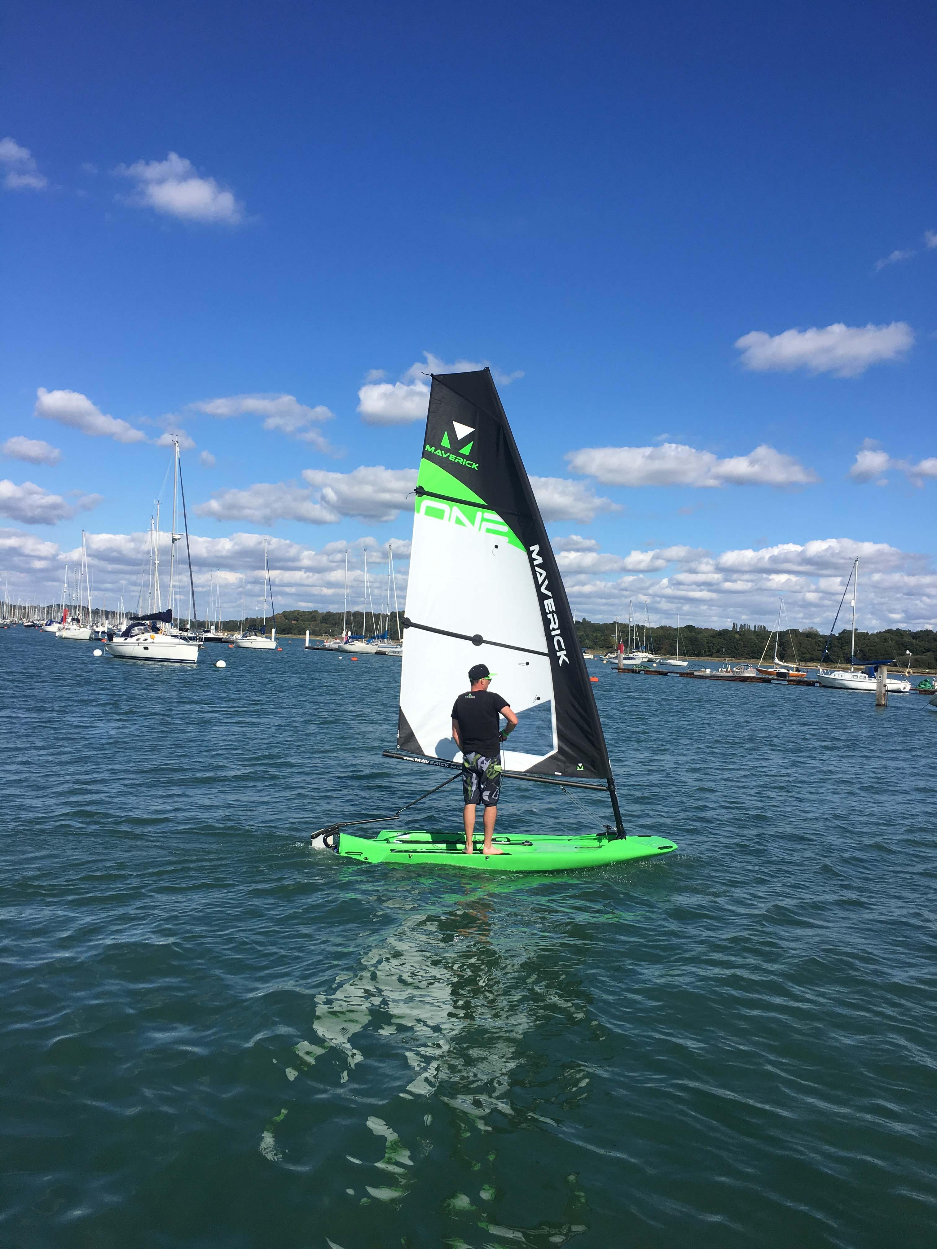 Stand Up Sailing Maverick